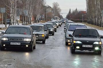 Автопробег в День памяти жертв ДТП
