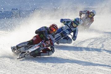 Мотогонки на льду среди команд Суперлиги 3 этап