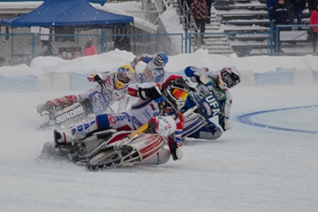Мотогонки на льду среди команд Суперлиги 4 этап