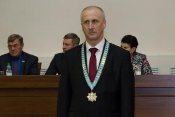 Церемония инаугурации Главы города Шадринска